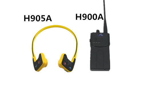 Swimming training communicator 1000M range H905A+H900A