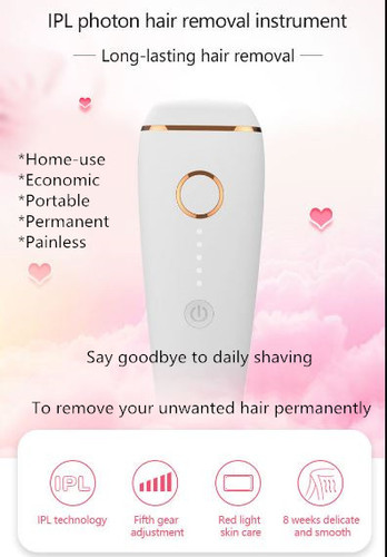 IPL Hair Removal homeuse ice care painless INVT13