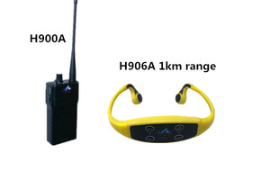 Swimming training communicator 1000M range H906A+H900A
